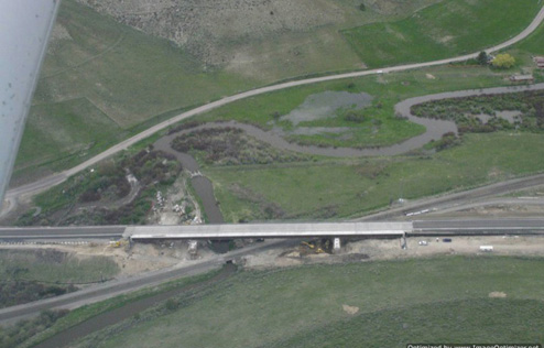 Marsh Creek Canal diversion point